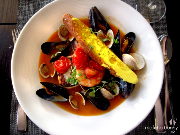First, a photo of good food to whet your appetite (cioppino from Catch - Santa Monica)