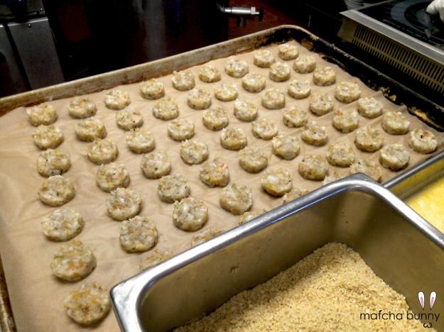 Shrimp Cakes (the work in progress)