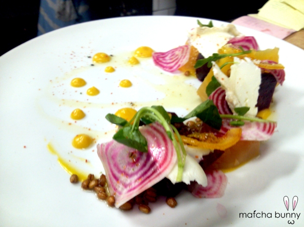 Beet Salad - our newest seasonal dish