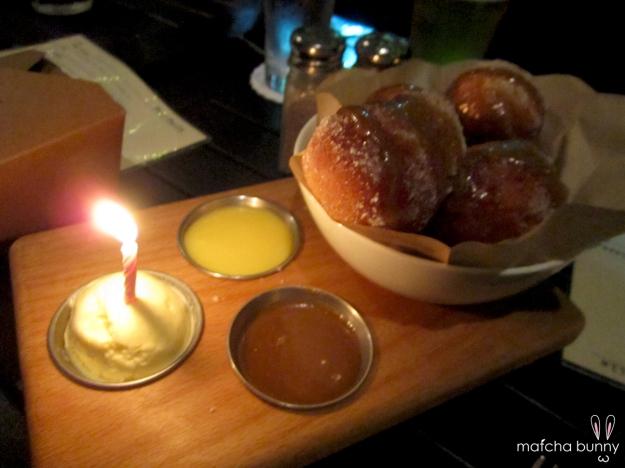 Bourbon Glazed Doughnuts
