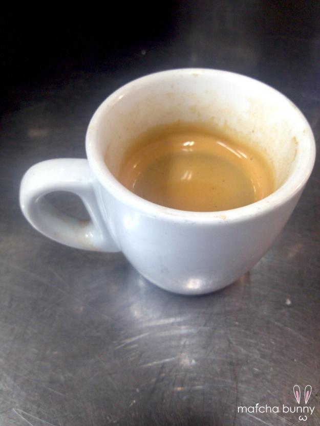 Precious, precious coffee