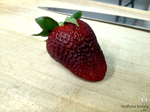 First of the Season Strawberry
