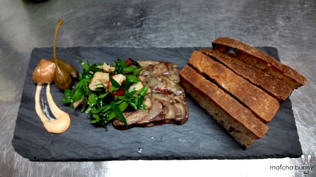 New Special Terrine: Pig Trotter with Parsley-Lemon-Caper Salad